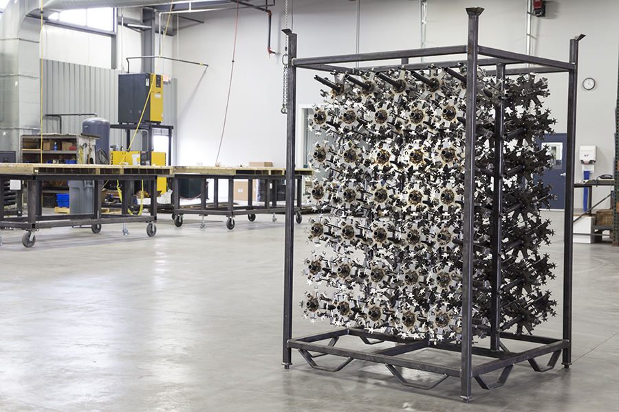 Paint Line Tooling and Storage Rack