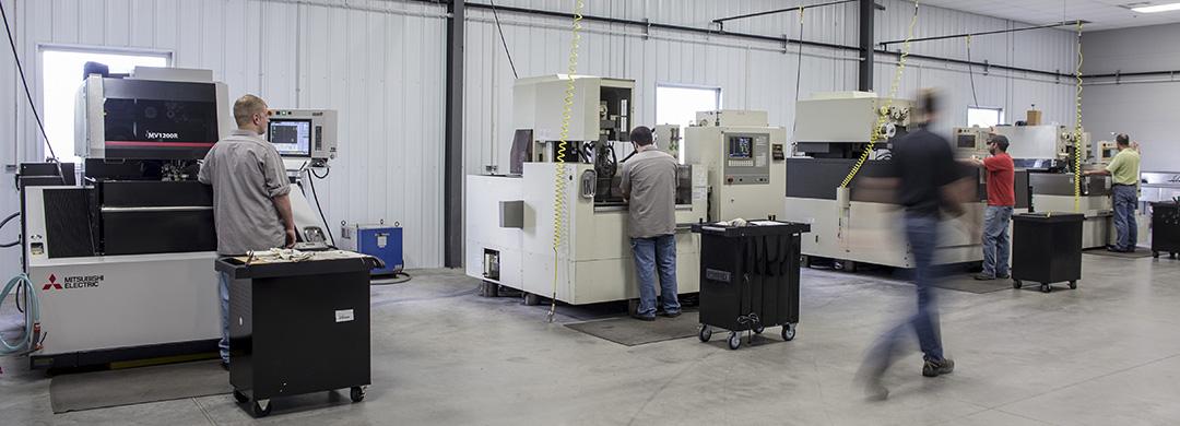 Wire EDM Machines at Superior Cutting Service
